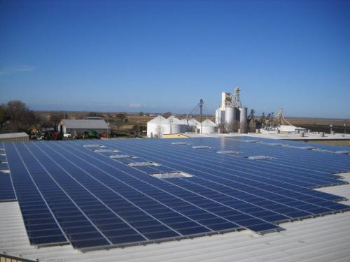 Lundberg Family Farms solar panels