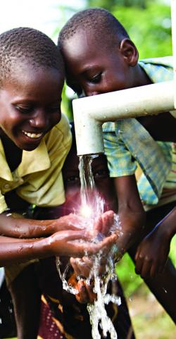 Villagers in Malawi now have acess to fresh water
